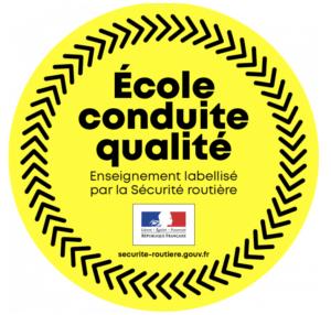 label sécurité routière - École conduite qualité